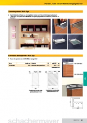 Paneelsysteem Wall-Sys